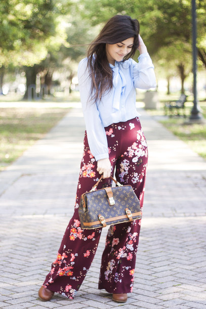 a walk in the park blouse pants shoes bag