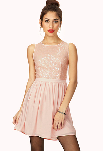 Dazzling Sequined Dress | FOREVER21 - 2000072785