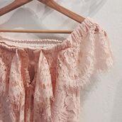 dress,endless rose,pink,off the shoulder,lace dress
