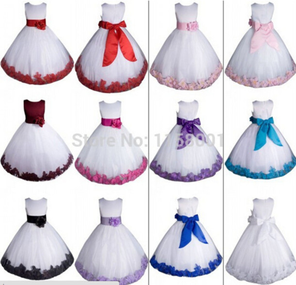 dress floral dress flower girls' dresses flower girl dresses little girl dress girl dresses