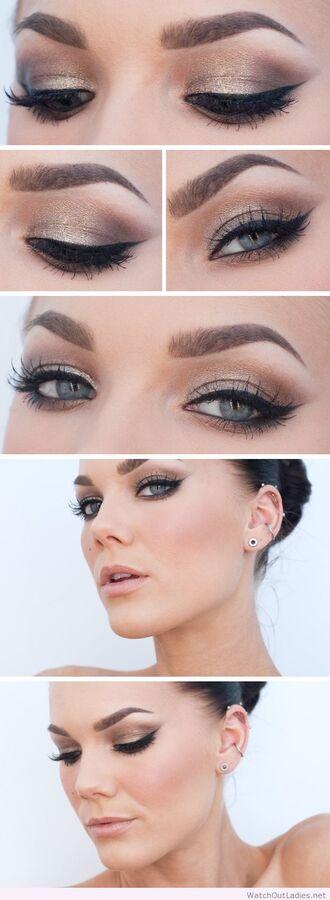 make-up linda hallberg golden black eye makeup eye makeups