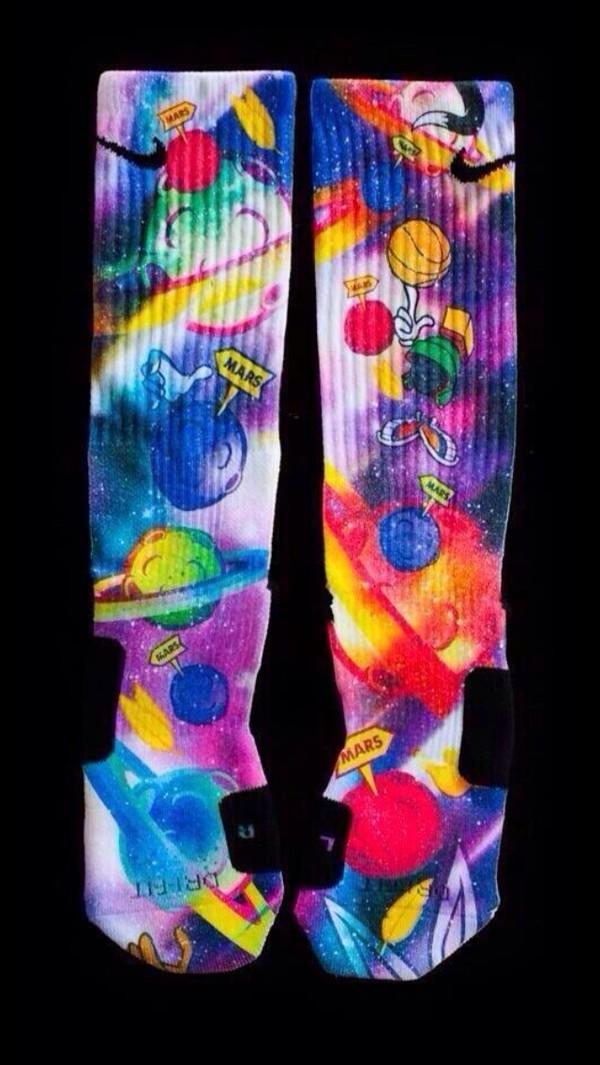 shoes socks nike elite space basketball socks