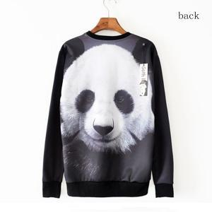 Panda, 3d Lifelike Animals Fleece Personality Trend on Luulla