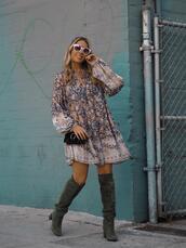 mesvoyagesàparis,blogger,dress,shoes,sunglasses,bag