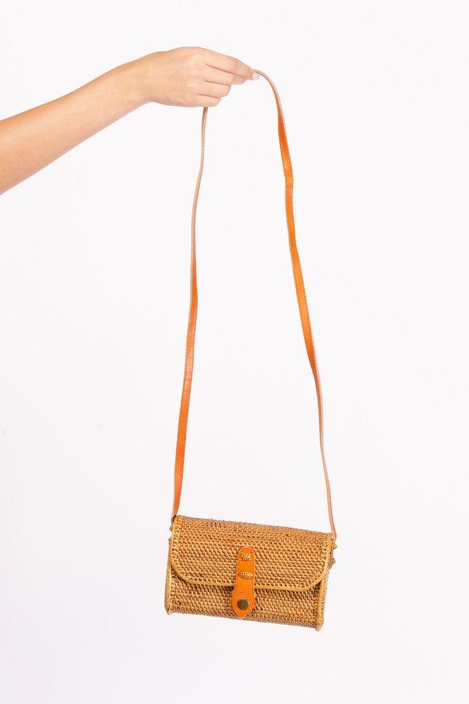 Summer Balinese Ata Grass Bag