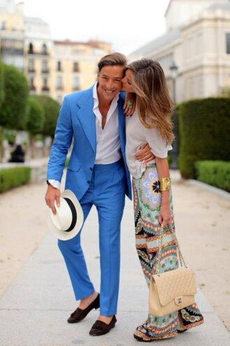 bag one direction jacket suit blue trouser suit pants blazer suit jacket smart