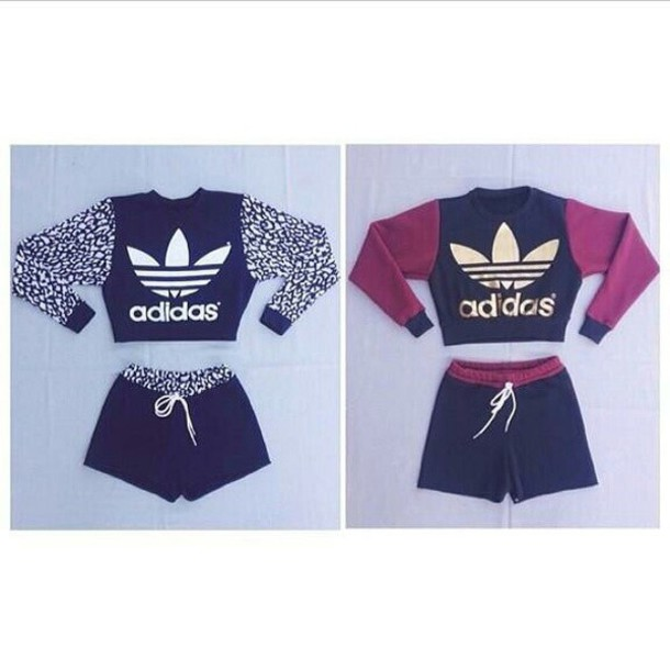 jumpsuit, adidas, shorts, swag, sweatshirt, shirt Wheretoget