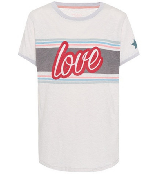 81hours Love cotton T-shirt in white