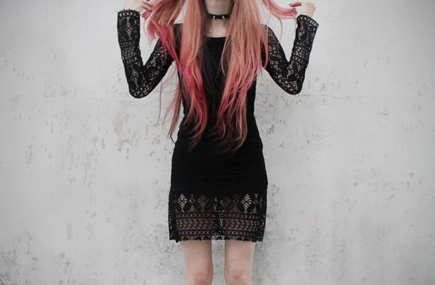 dress grunge grunge dress black dress lace dress