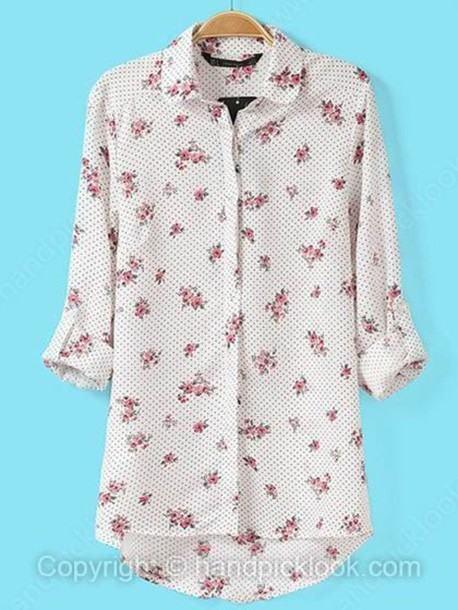 Flower Blouse Top 20