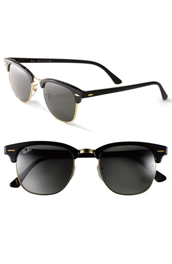 958b7ebca7 Ray-Ban  Clubmaster  49mm Sunglasses