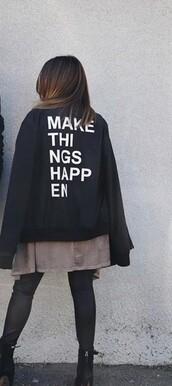 jacket,black jacket,thatsojack