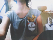 t-shirt,cigarette,marlboro,fries