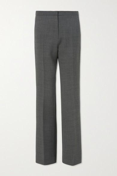 LVIR - Woven Straight-leg Pants - Gray - Woven Straight-leg Pants