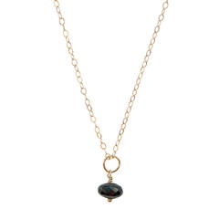 Celestial Necklace - Black Garnet – Keltie Leanne Designs