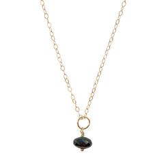 Celestial Necklace - Black Garnet – Keltie Leanne Designs