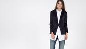 jacket,black jacket,black tuxedo,office outfits,officewear