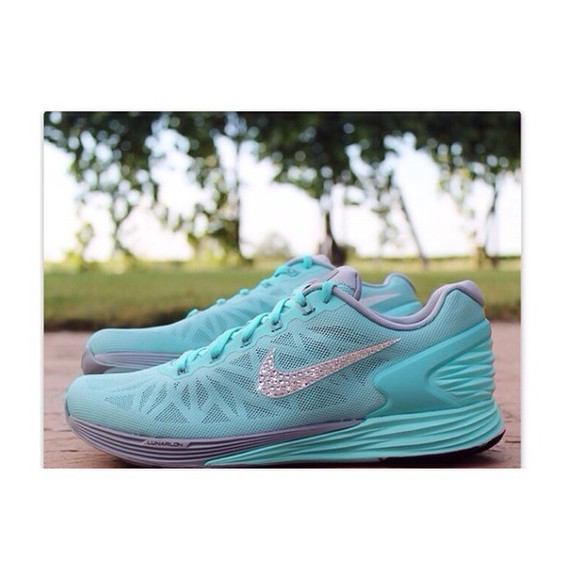 glitter cute shoes sparkly nike running shoes nike athletic comfy stylish