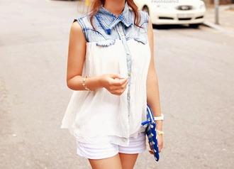 shirt white shirt beautiful summer shirt