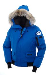 jacket,pbi,polar bears international,menswear,fur,blue,xs,young large,canada goose