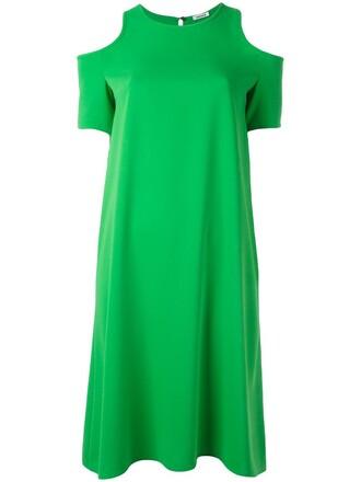 dress women cold green
