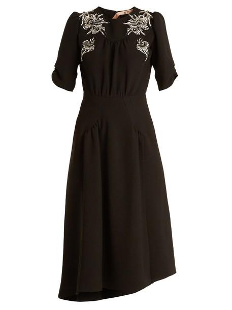 No. 21 dress embellished black