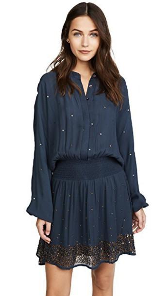 Chloe Oliver dress blue