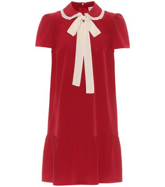 REDValentino dress silk dress silk red
