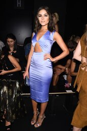 dress,olivia culpo,sandals,midi dress,satin dress,NY Fashion Week 2016,cut-out dress,lavender,bodycon,bodycon dress,party dress,sexy party dresses,sexy,sexy dress,party outfits,sexy outfit,midi,halter dress,halter neck,summer dress,summer outfits,spring dress,spring outfits,fall dress,fall outfits,winter dress,winter outfits,classy dress,elegant dress,cocktail dress,cute,cute dress,girly,girly dress,date outfit,birthday dress,summer holidays,holiday dress,clubwear,club dress,celebrity style,celebrity,celebstyle for less,engagement party dress,wedding guest,wedding clothes,romantic summer dress,romantic dress,dope