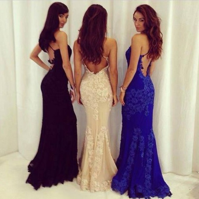 Prom Dresses Dress Prom Dress Black Lace