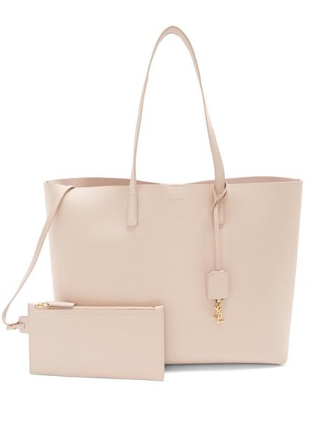 Saint Laurent leather light pink light pink bag