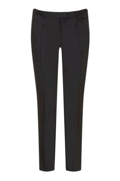Topshop pants cigarette pants black