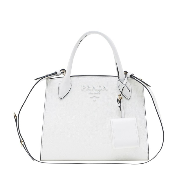 Prada bag tote bag white