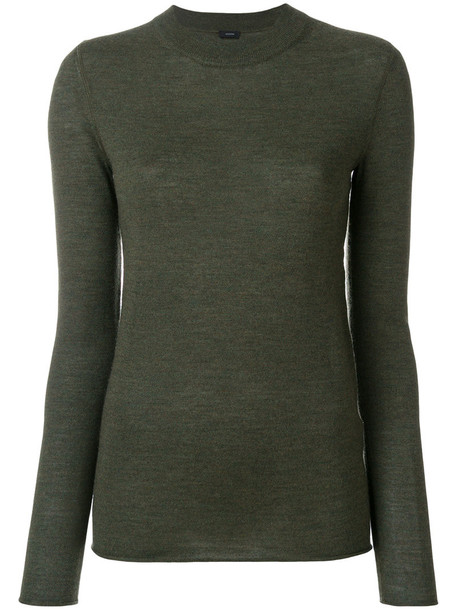 Joseph sweater women fit green