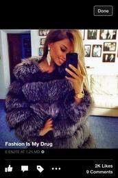 coat,purple fur