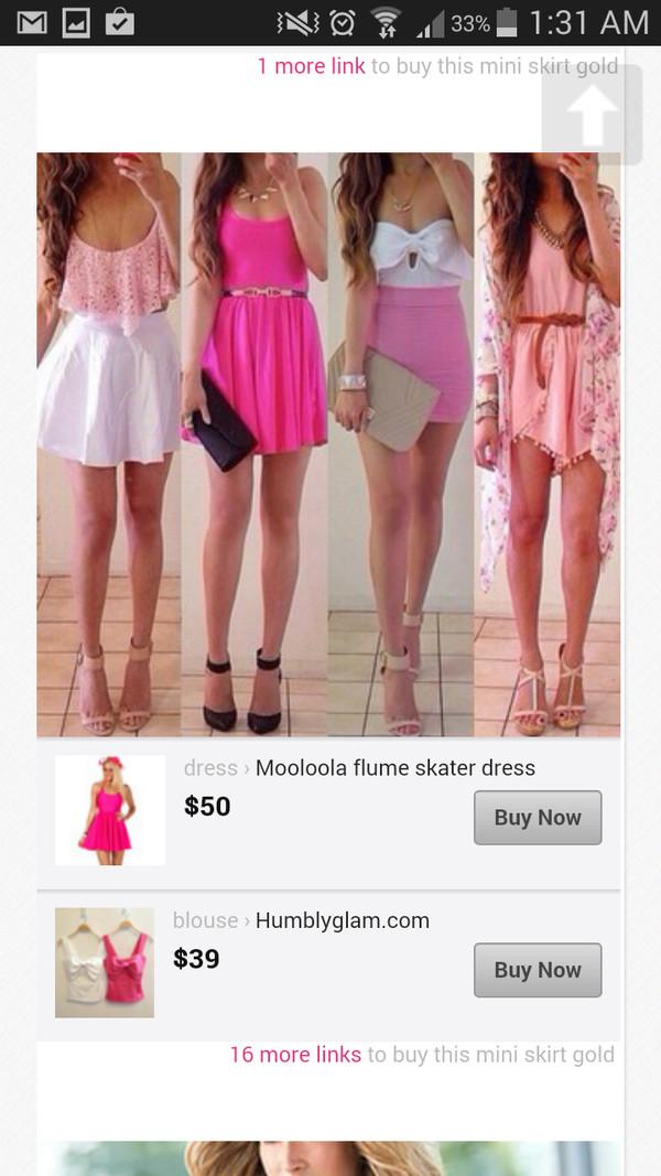 dress light pink dress brown belt floral cardigan