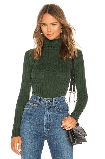 MAJORELLE Macy Sweater in green