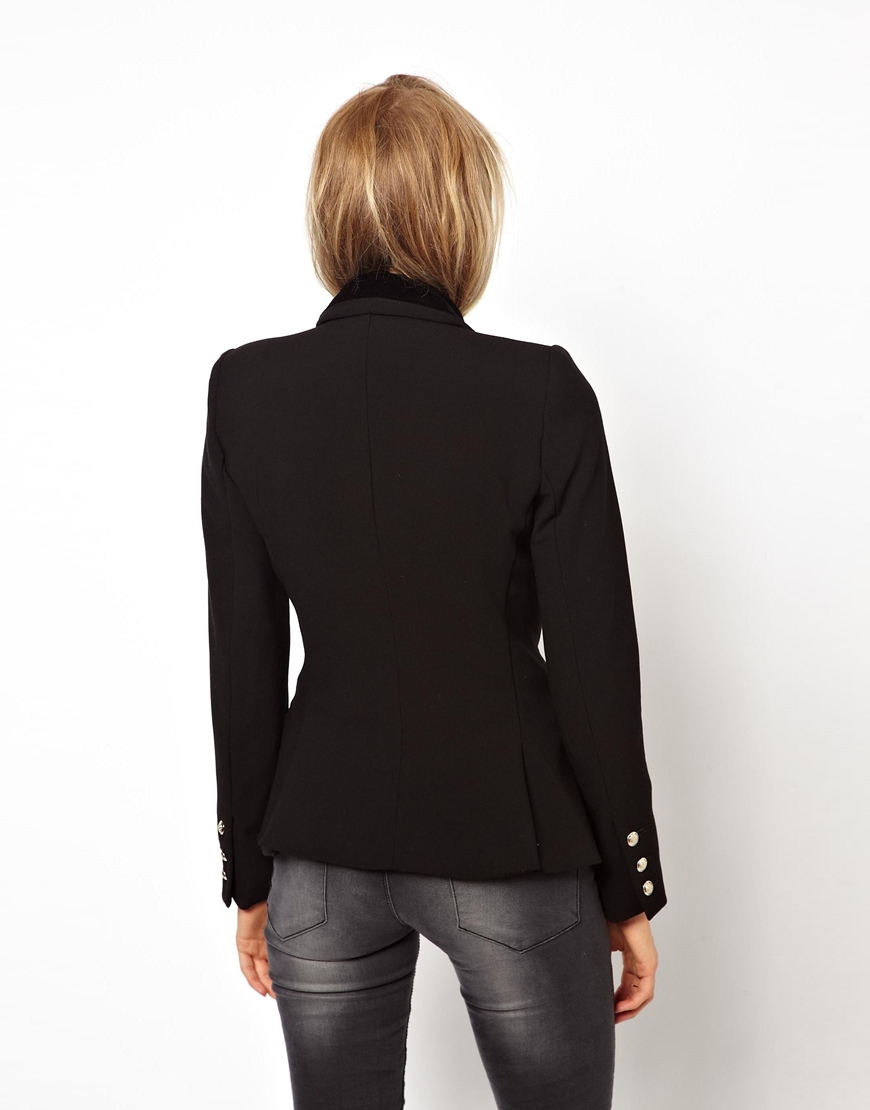 Mango Double Breasted Blazer at asos.com