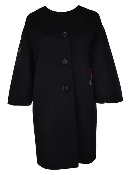 Ermanno Scervino coat embroidered