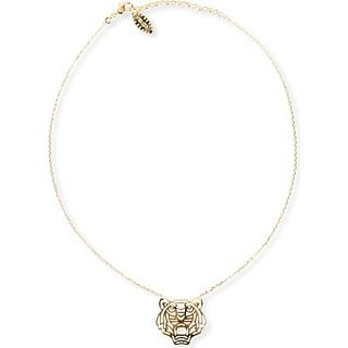 KENZO - Tiger pendant necklace | Selfridges.com