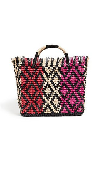 Sensi Studio multicolor red bag