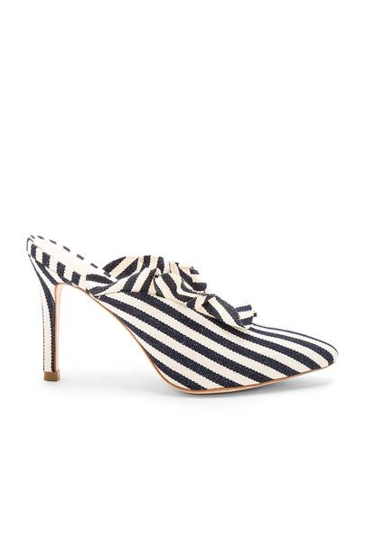 Loeffler Randall heel navy shoes