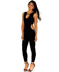 Missguided Keyhole Cut Out Jumpsuit NEW size 12 | eBay