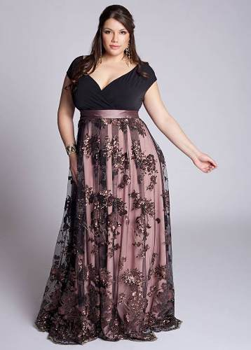 Vestidos De Festa Plus Size Celly - R$ 599,90 no MercadoLivre
