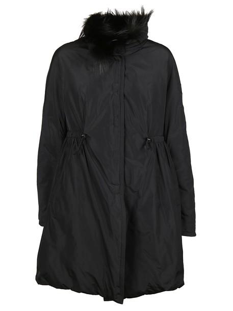 Ermanno Scervino parka black coat