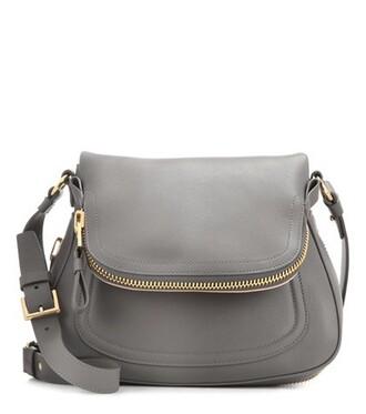 new bag shoulder bag leather grey