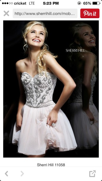 dress prom dress short dress sherri hill