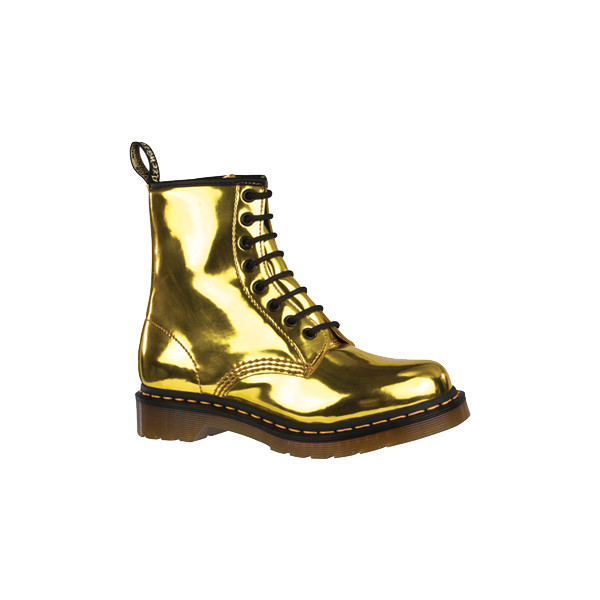 02cf81490dfc Dr. Martens HOT GOLD KORAM FLASH 1460 Womens - Polyvore