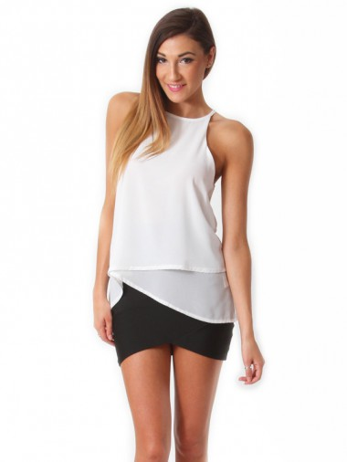 White Top | Dolly Girl Fashion Store – Shop fashionable party ...