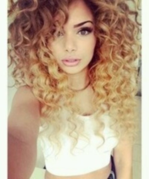Thing Curly blonde hair extensions idea keep the